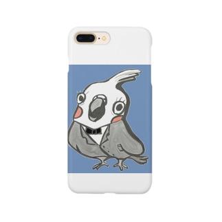 オカメインコのプーちゃん2 Smartphone cases