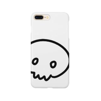 どくろちゃん Smartphone cases