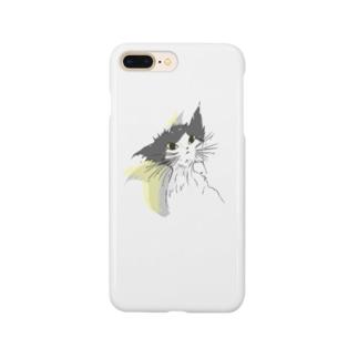 濡れ猫 Smartphone cases