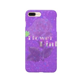 FlowerPink Smartphone cases