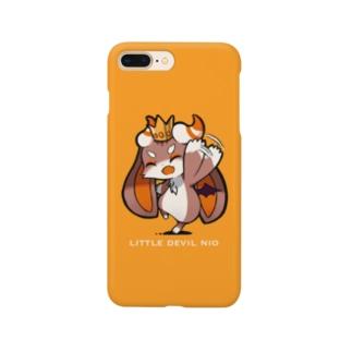 ニオのスマホケース(文字あり) Smartphone cases