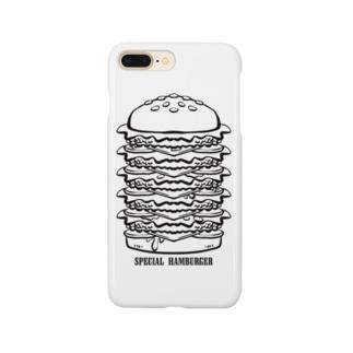 スペシャルハンバーガー Smartphone cases