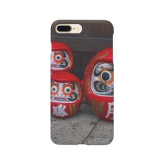勝ち達磨 開運 Smartphone cases