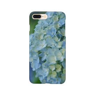 紫陽花 寫眞 スマホケース Smartphone cases