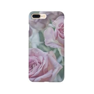 薔薇 ピンク スマホケース Smartphone cases