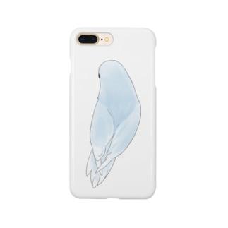 見返り美人マメルリハちゃん【まめるりはことり】 Smartphone cases