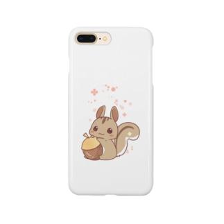 どんぐりとちびリス Smartphone cases