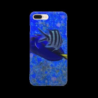 Luckyemeの交差する魚スマートフォンケース