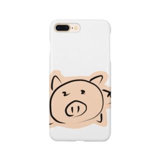 ダルダル㌧㌧君 Smartphone cases