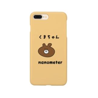 nanometerのnanometer『くまちゃん』スマホケース Smartphone Case