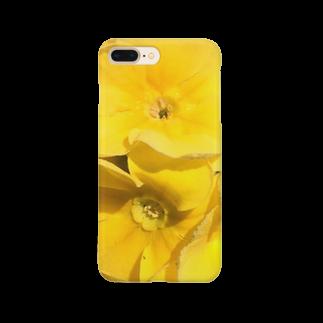 眩しいくらいの黄色 スマートフォンケース