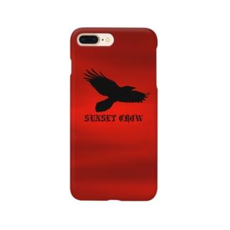 SUNSET CROW スマートフォンケース