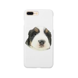 バーニーズマウンテンドッグA 子犬 Smartphone cases