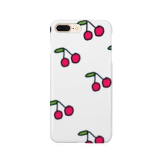 サクランボ Smartphone cases