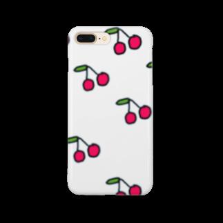 栞里のサクランボ Smartphone cases