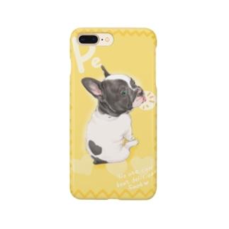 フレンチブル ぺ Smartphone cases