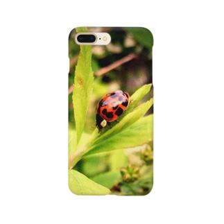 てんとう虫のスマホケース Smartphone cases