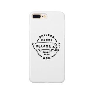 ふきだしいぬ【RELAX】 Smartphone cases
