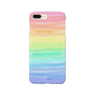 虹色の人生 Smartphone cases