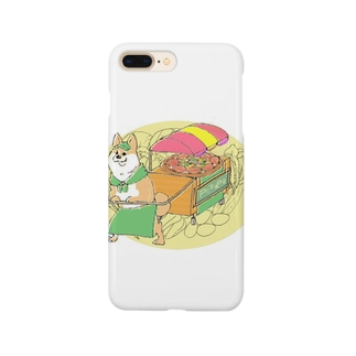 犬のピッツァ Smartphone cases