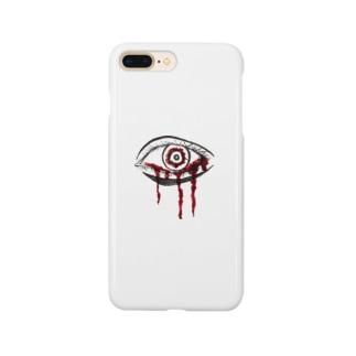 赤い目 Smartphone cases