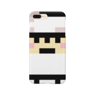PixelArt スシスッキー イカゲソ スマートフォンケース
