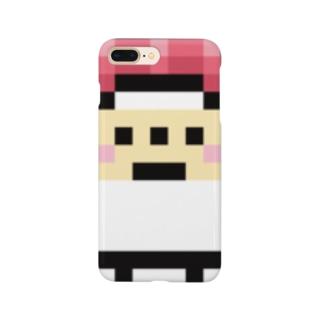 PixelArt スシスッキー チュウトロ スマートフォンケース