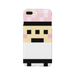 PixelArt スシスッキー ビントロ Smartphone cases