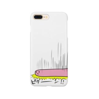 かおいろわるいくん(ビターン!!) Smartphone cases