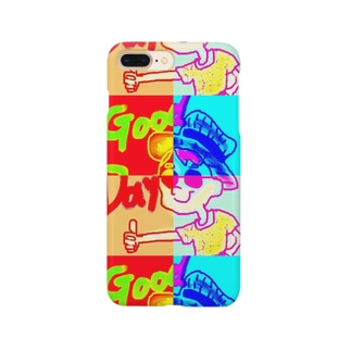 カラフルgoodday Smartphone cases