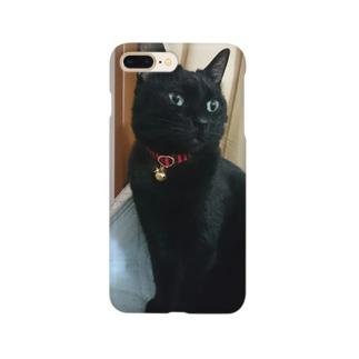 キリッ(ねこ) Smartphone cases