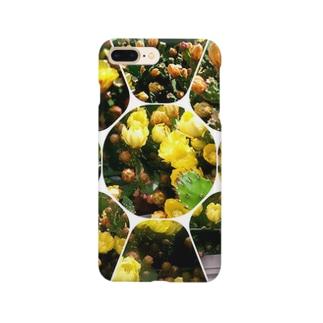 フラワーさぼ2017 Smartphone cases