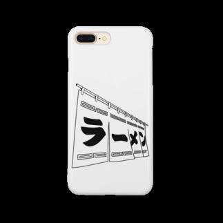TAMA Carat☆たまカラット☆の白ラーメン スマートフォンケース
