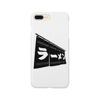 黒ラーメン Smartphone cases