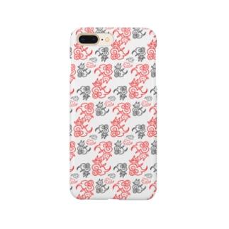 極楽雲ネコ Smartphone cases