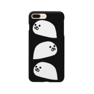 霜降り衛星写真 Smartphone cases
