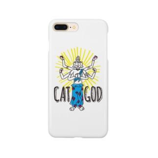 キャットゴッド Smartphone cases