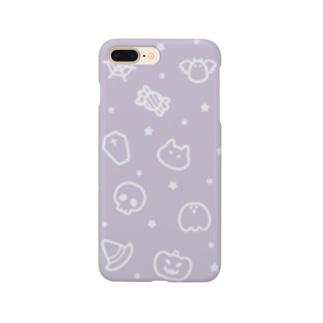 チームハロウィン パープル Smartphone Case