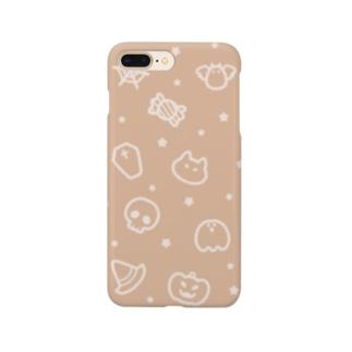 チームハロウィン オレンジ Smartphone Case