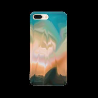 「落ちたらワニね」のs k y  Smartphone cases