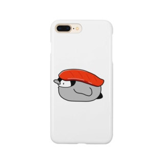 お寿司なペンギン(まぐろ) Smartphone cases