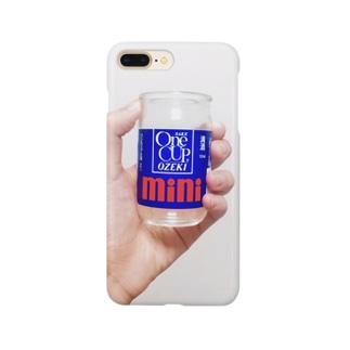 One CUP OZEKI mini と 手 Smartphone cases