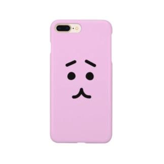 ふきだしねこ【FACE】 Smartphone Case