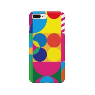 幾何学タイル Smartphone cases
