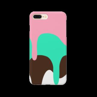 こだまのアイス Smartphone cases