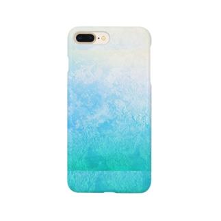 蒼色 Smartphone cases