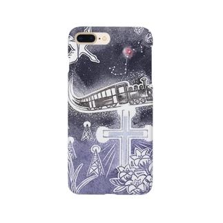 銀河鉄道心象スケッチ Smartphone cases