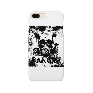 Danger‐モノクロ Smartphone cases