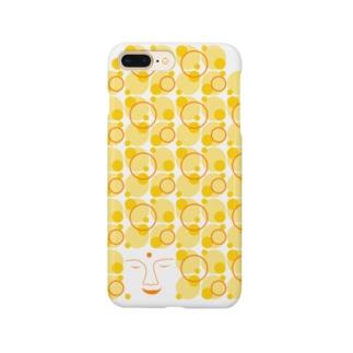 大仏(縦) Smartphone cases