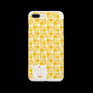 irodoruhanaの大仏(縦) Smartphone cases